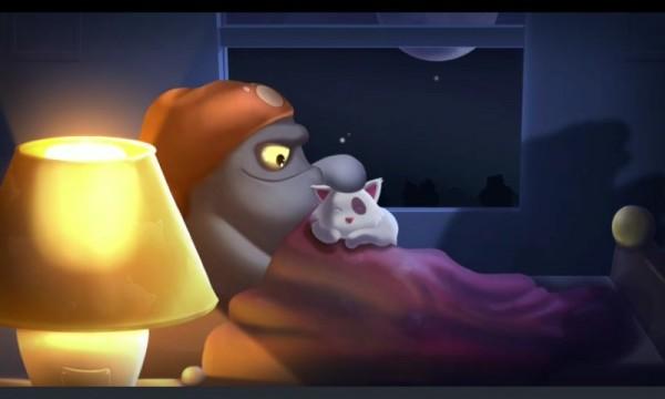 DumDum and his cat