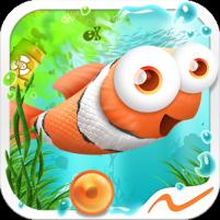 Fast Fin, the unfortunate clown fish