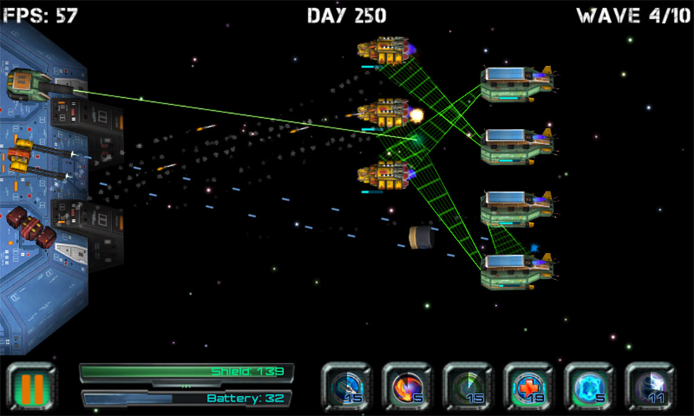 Space Station Defender 3D
